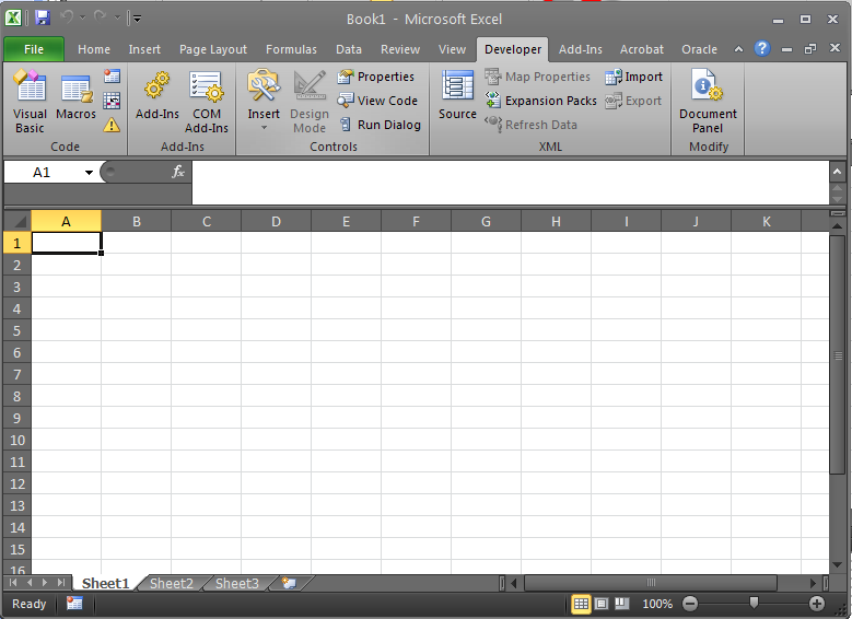 insert excel data into oracle database using oo4o miguel on the web. Black Bedroom Furniture Sets. Home Design Ideas